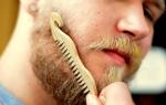 Расческа для бороды — разновидности, где купить и как пользоваться