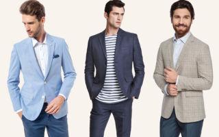 В магазин за покупкой. Как выбрать мужской пиджак?
