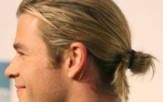 Топ-7 мужских причесок с хвостиком. Рекомендации по уходу за волосами и фото стильных образов
