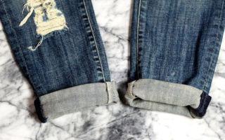 Как подворачивать джинсы правильно — 9 стильных способов