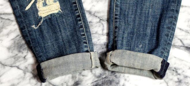 Как подворачивать джинсы правильно