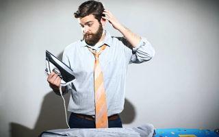 Как гладить рубашку правильно — пошаговая инструкция