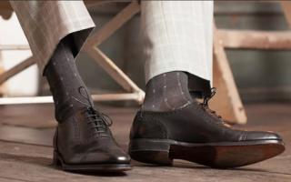 Как подобрать носки к брюкам и туфлям — 5 важных правил