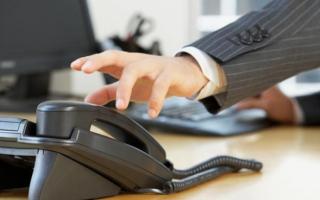 Деловое общение по телефону — общие правила и примеры