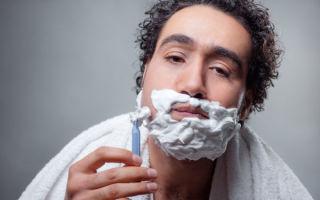 Как правильно бриться мужчине — советы для начинающих
