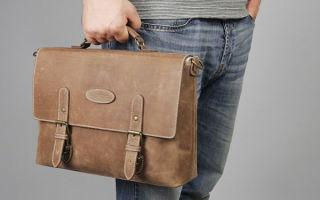 Виды мужских сумок — название, описание и фото
