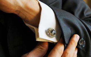 Как носить запонки правильно — удачные сочетания и рекомендации стилистов