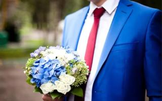 Свадебный наряд жениха — классические сочетания и современные тенденции