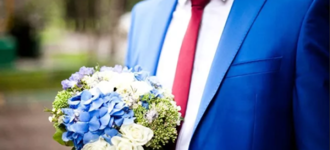 Свадебный наряд жениха