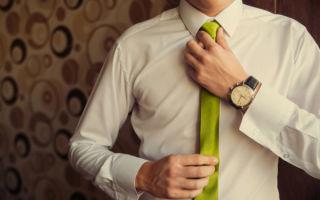 Как завязать тонкий галстук — 4 схемы и пошаговая инструкция