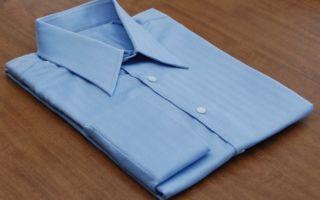 Как сложить рубашку, чтобы она не помялась — лучшие способы