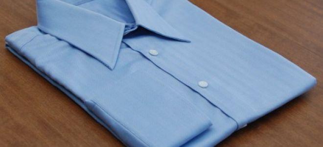 Как сложить рубашку, чтобы она не помялась