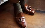 С чем носить мужские лоферы — модные советы