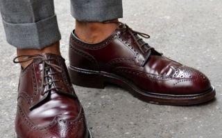 Туфли под костюм — как правильно подобрать по цвету