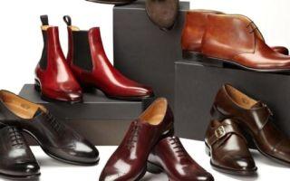 Виды мужской обуви, которые ты должен знать — название, описание и фото