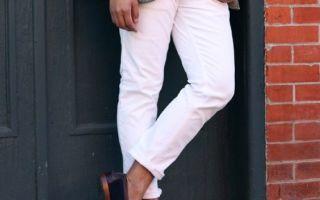 Мужские брюки чинос — что это за модель и с чем их носить