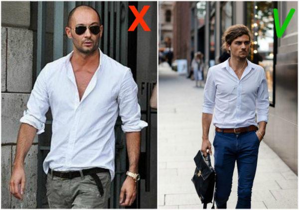 Как закатывать рукава на рубашке — 3 интересных способа5