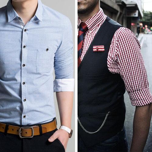 Как закатывать рукава на рубашке — 3 интересных способа6