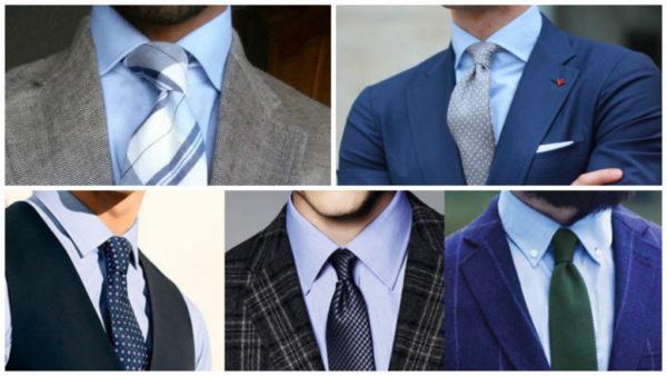 Как подобрать галстук к рубашке и костюму — рекомендации стилистов1