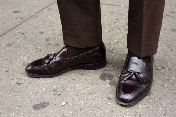 С чем носить мужские лоферы — модные советы2