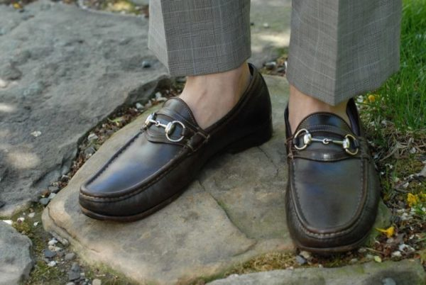 С чем носить мужские лоферы — модные советы4