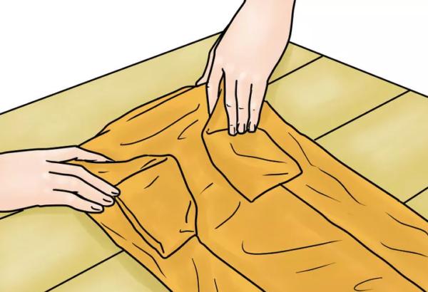 Как сложить рубашку, чтобы она не помялась — лучшие способы5