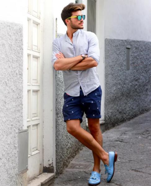 С чем носить мужские лоферы — модные советы6