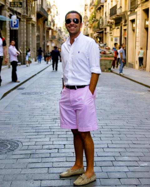 С чем носить мужские лоферы — модные советы7