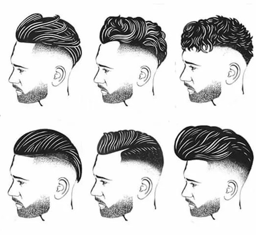 Как выбрать стрижку по форме лица мужчине