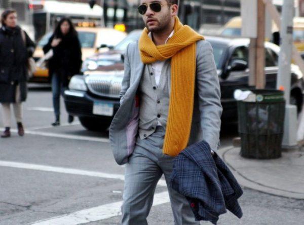 Как завязать шарф мужчине — 10 способов5