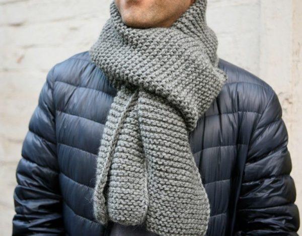 Как завязать шарф мужчине — 10 способов2