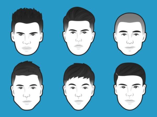 Как подобрать прическу мужчине по форме лица и подстричься самостоятельно?1