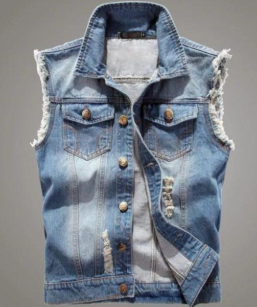 С чем носить мужскую жилетку — джинсовую, кожаную и другие виды1