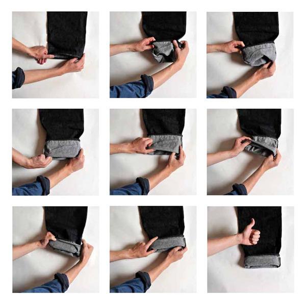 Как подворачивать джинсы правильно — 9 стильных способов1