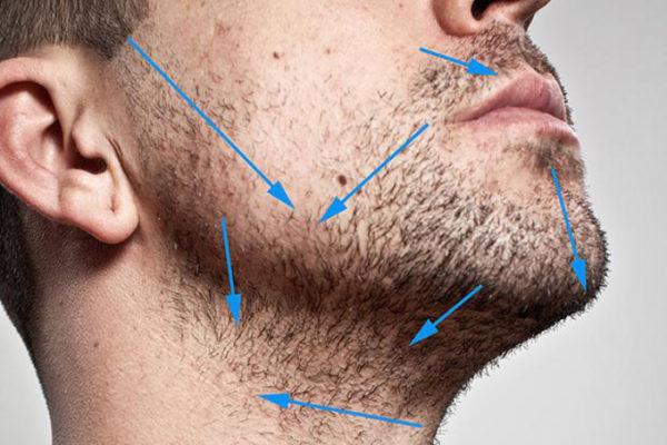 Как правильно бриться мужчине станком — техника бритья для начинающих3