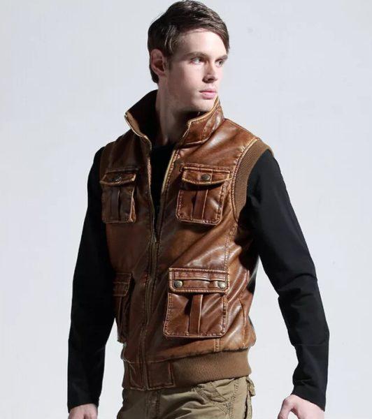С чем носить мужскую жилетку — джинсовую, кожаную и другие виды3