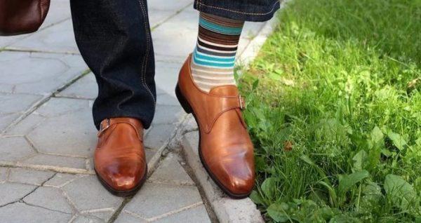 Как подобрать носки к брюкам и туфлям — 5 важных правил0