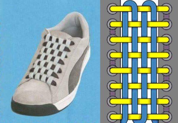 Как завязывать шнурки красиво — 13 лучших способов3
