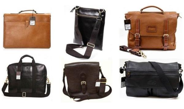 Виды мужских сумок — название, описание и фото0