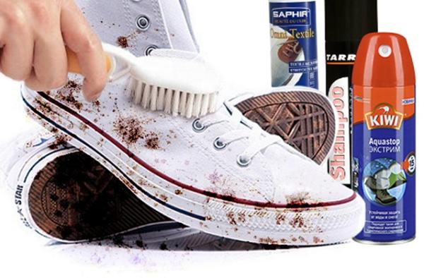Как почистить белые кроссовки — кожаные, тканевые, сетчатые2
