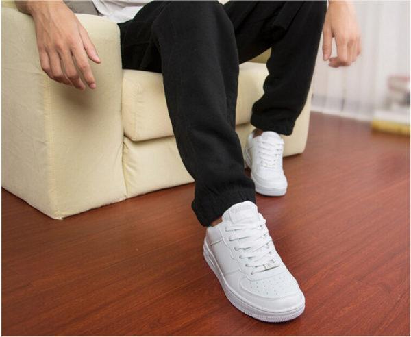 Как почистить белые кроссовки — кожаные, тканевые, сетчатые0