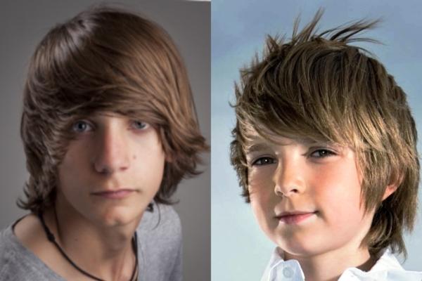 Современные модные стрижки для подростков мальчиков: описание и фото17