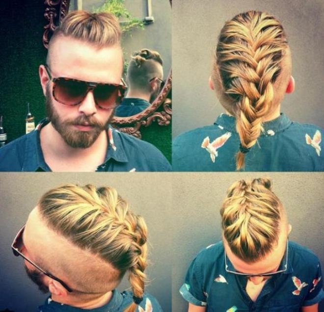 Мужские причёски с хвостиком: кому подойдут, модные варианты